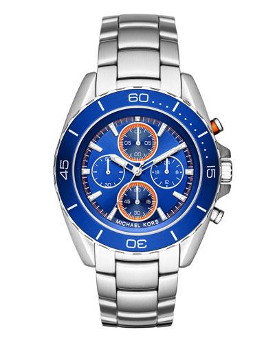 Jet Master 43mm Chronograph Watch