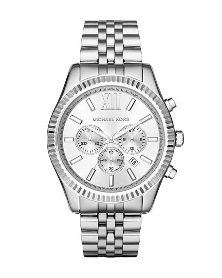 MICHAEL Michael Kors Lexington 44mm Chronograph Watch