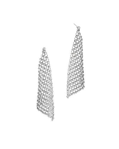 Park Avenue Crystal Mesh Earrings