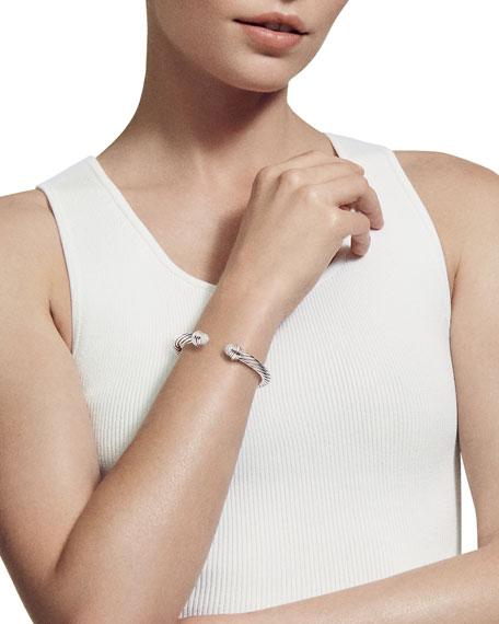 7mm Pave Diamond Dome Bracelet