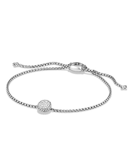 David Yurman Petite Châtelaine Bracelet with Diamonds
