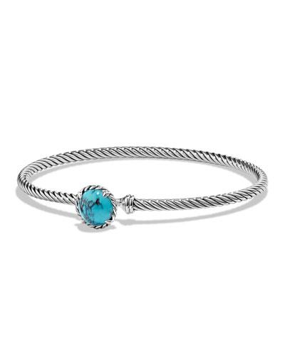 Petite Chatelaine 8mm Chinese Turquoise Bracelet