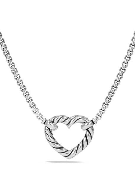 Valentine Hearts Diamond Station Necklace
