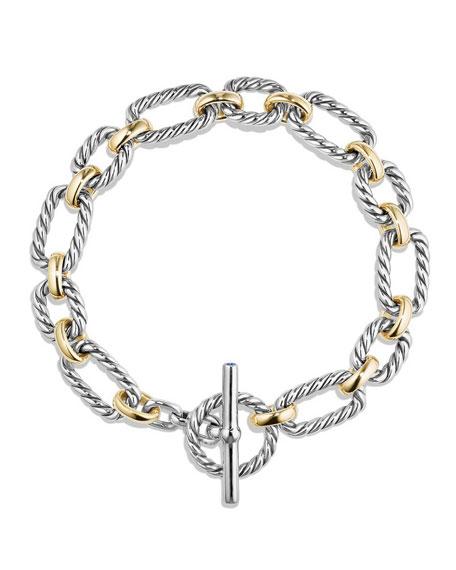 9.5mm Cushion Link Toggle Bracelet