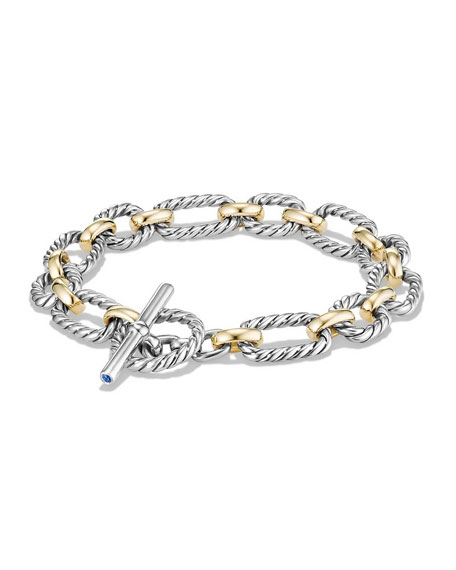 David Yurman 9.5mm Cushion Link Toggle Bracelet