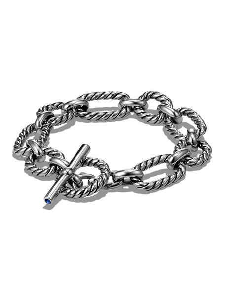 David Yurman 12.5mm Cushion Link Chain Bracelet