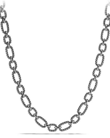 David Yurman 12.5mm Cushion Link Chain Necklace