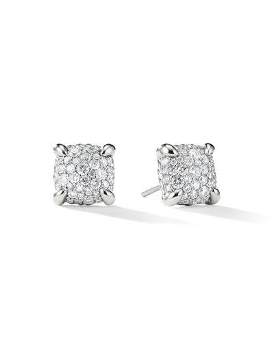 9mm Châtelaine Diamond Mosaic Earrings