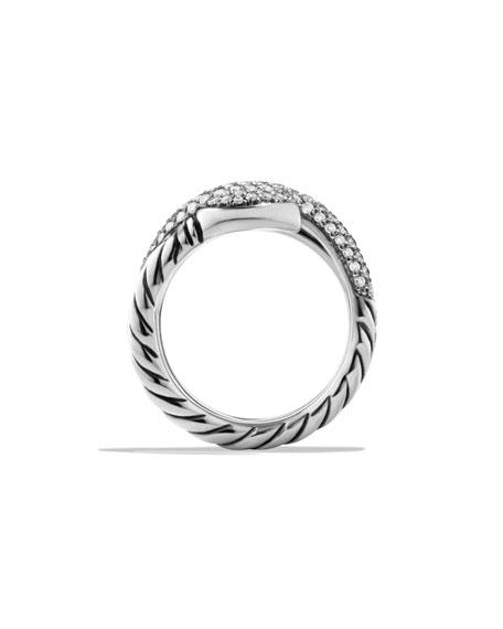 Renaissance Pavé Diamond Coil Ring