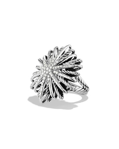 30mm Diamond Starburst Ring