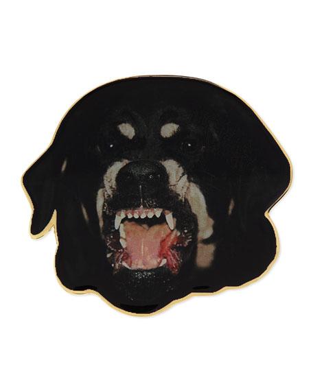 Rottweiler Badge Pin