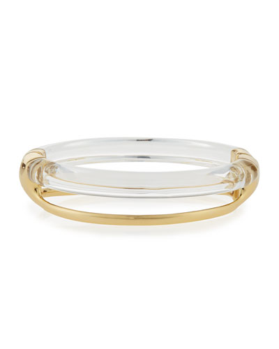 Two-Band Liquid Glazed Bangle Bracelet