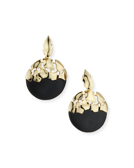 Alexis Bittar Shattered Sphere Dangling Earrings