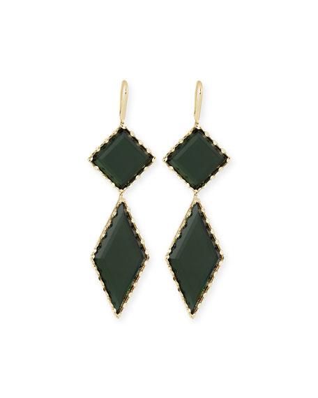 LANA 14K Gold Midnight Drop Earrings