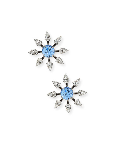 Constantina Crystal Stud Earrings