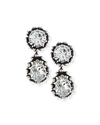 Alix Crystal Drop Earrings