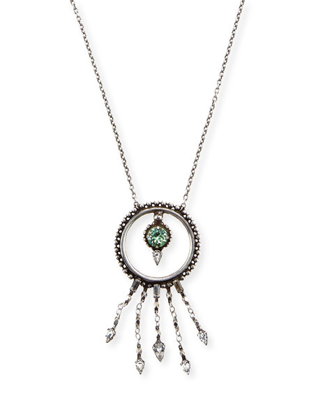 Amandia Round Pendant Necklace