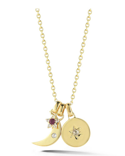 Nova Star Charm Necklace