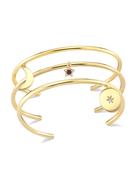 Elizabeth and James Stellar Charm Bangle Set