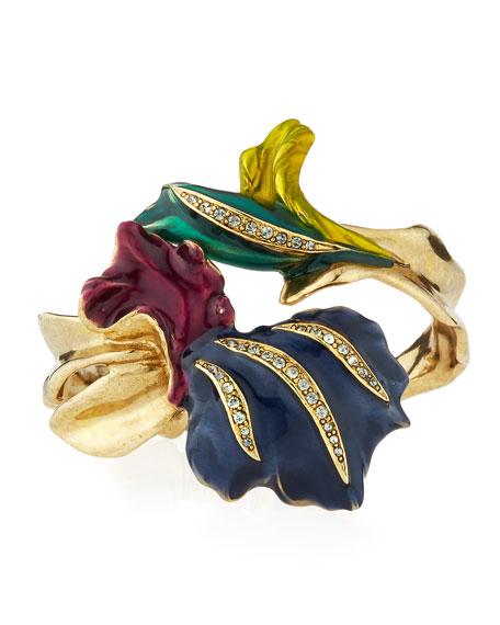 Pavé Swarovski® Crystal Tulip Bracelet