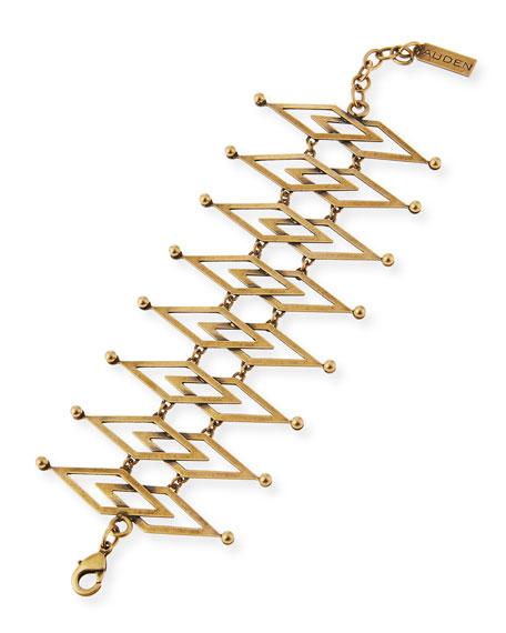Dakota Brass Cuff Bracelet