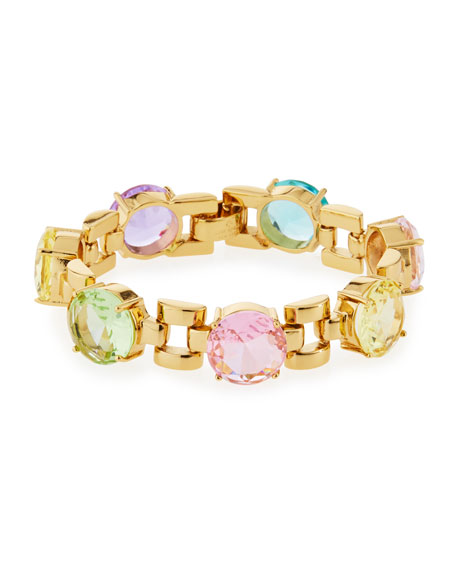 kate spade new york carnival crystal bracelet, multi