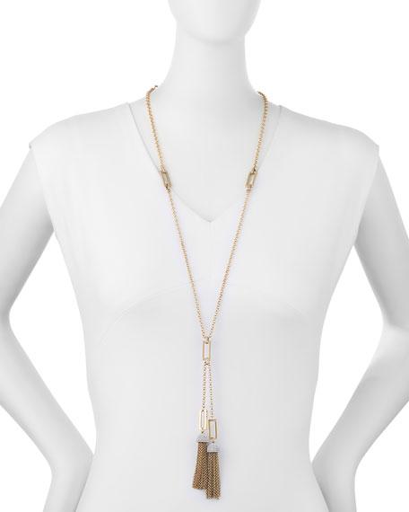 "Ursula Tassel Chain Necklace, 31"""
