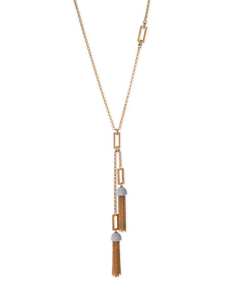 Lulu Frost Ursula Tassel Chain Necklace, 31