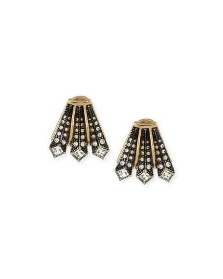 Lulu Frost Brigitte Crystal Stud Earrings