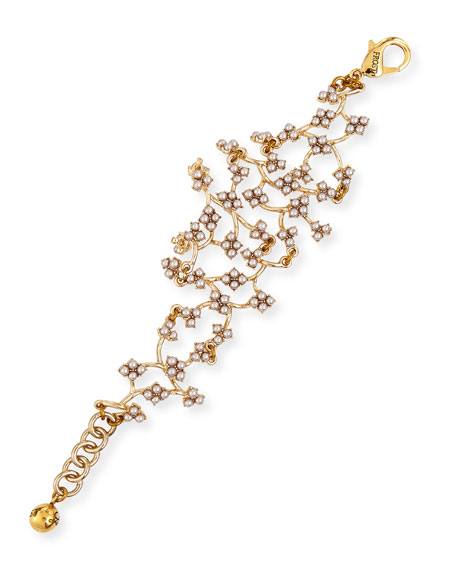 Lulu Frost Jackie Web Link Bracelet