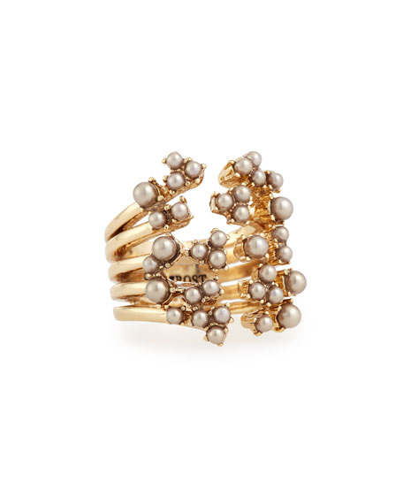 Lulu FrostJackie Stacked Cluster Ring