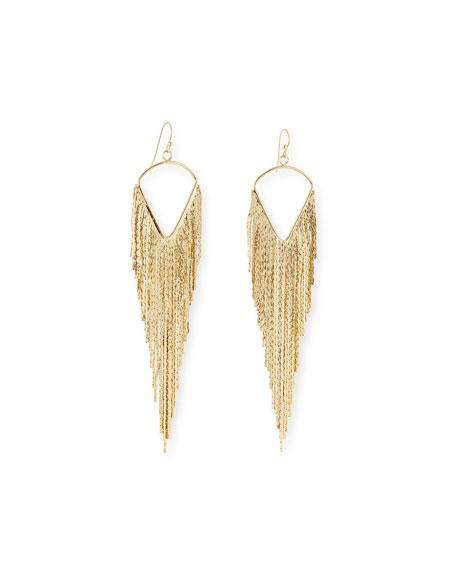 Jules Smith Fringe Dangle Earrings