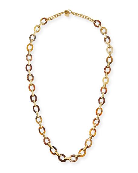 Shamba Light Horn Link Necklace