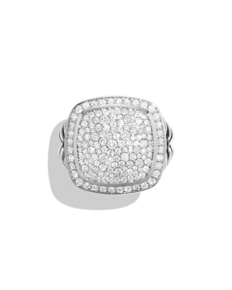 14mm Albion Pave Diamond Ring