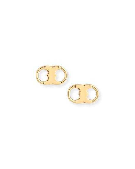 Tory Burch Gemini Link Stud Earrings