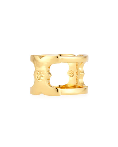 Gemini Golden Link Ring