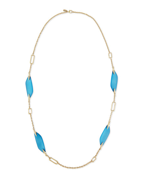 Alexis Bittar Reversible Liquid Link Necklace