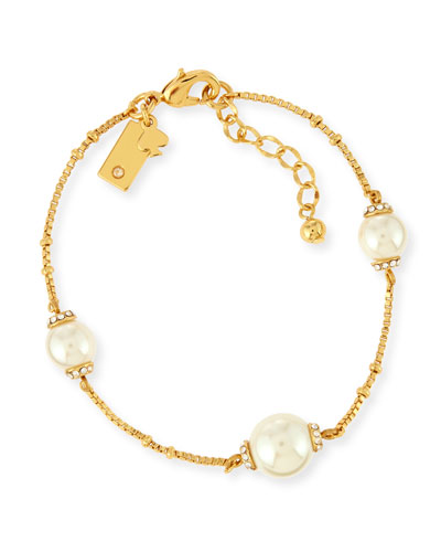 pearls of wisdom pearly bead bracelet
