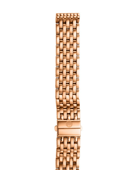 16mm Deco Rose Gold Bracelet Strap