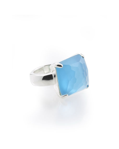 Ippolita Wonderland Large Cocktail Ring in Ice Doublet,