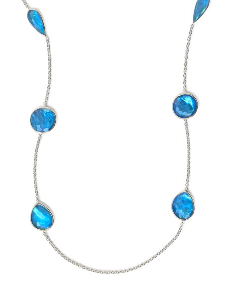 Rock Candy Wonderland Station Necklace in Ice, 42