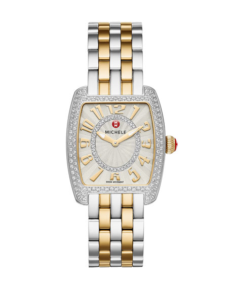 Urban Mini Diamond Two-Tone Watch Head