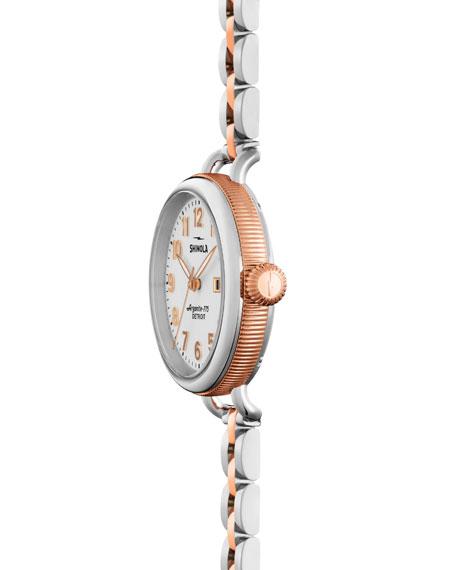 34mm Birdy Bracelet Watch, Rose Gold