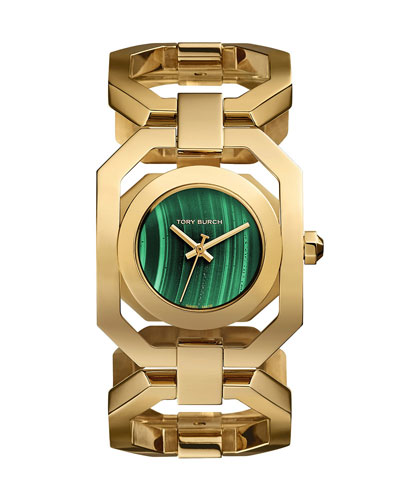 Gigi Limited-Edition Golden Stainless Steel Bracelet Watch