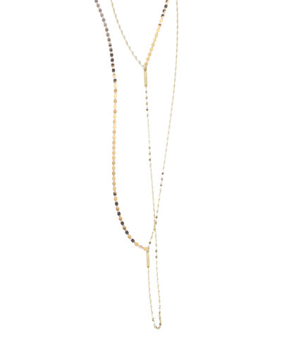 Remix Luck N' Love Lariat Necklace