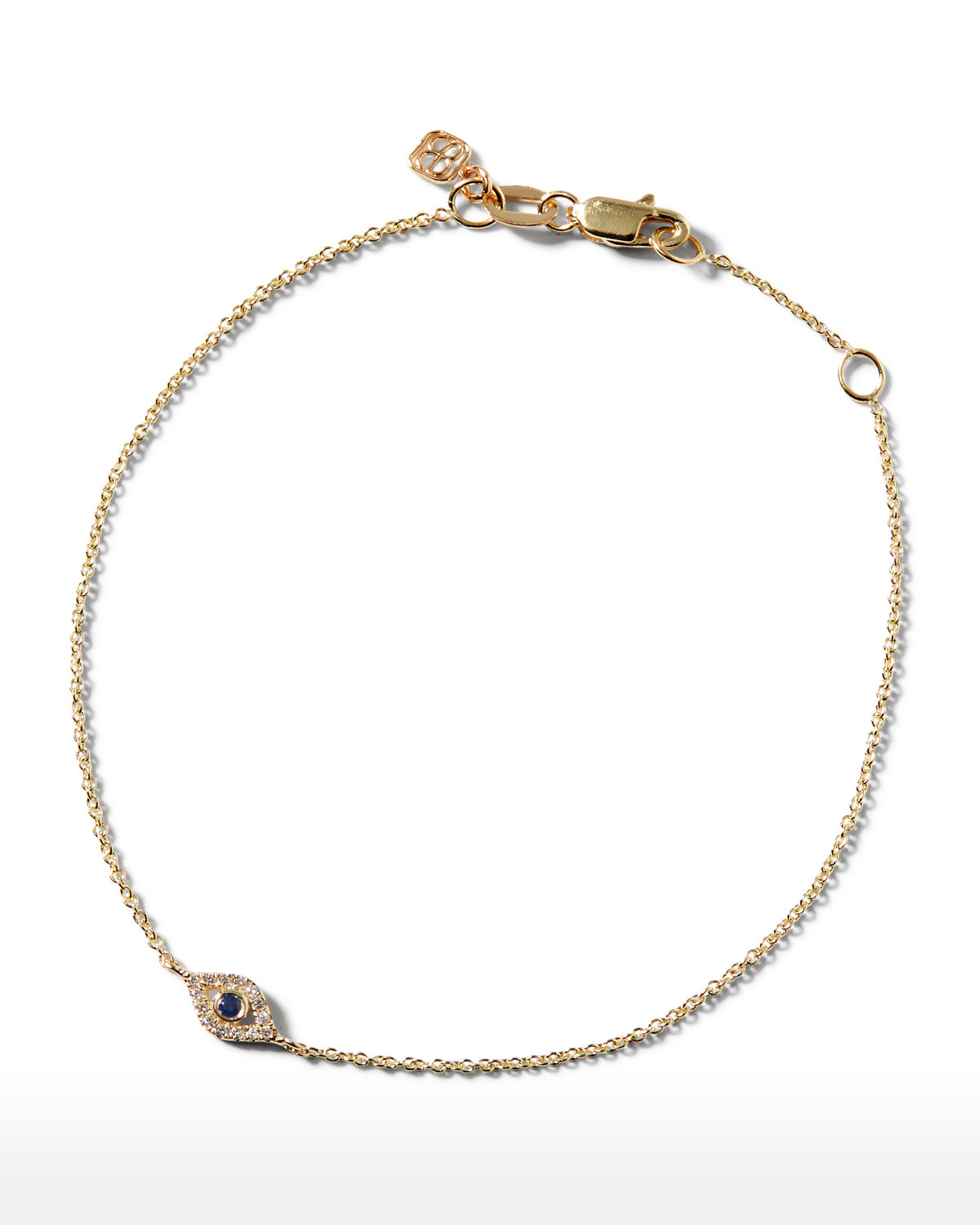Small Shire Diamond Evil Eye Bracelet