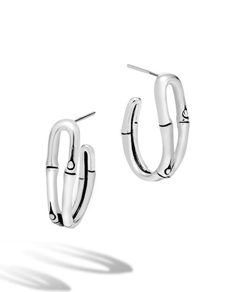 John Hardy Bamboo Small Looped Hoop Earrings