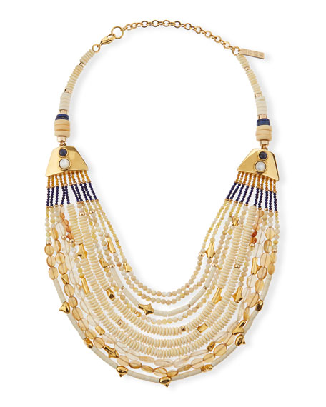 Lizzie Fortunato Bora Bora Multi-Strand Necklace