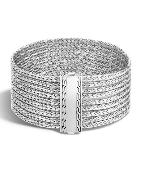 John HardyClassic Chain Nine-Row Sterling Silver Bracelet