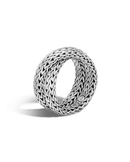 John Hardy Classic Chain Intersect Ring